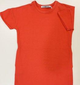 Mingo T-Shirt Dress Peach mt 110/116