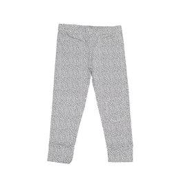 Mingo Legging Jersey Dot Black-White mt 110/116
