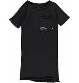 Little 10 Days Raglan Dress Charcoal Mt 6