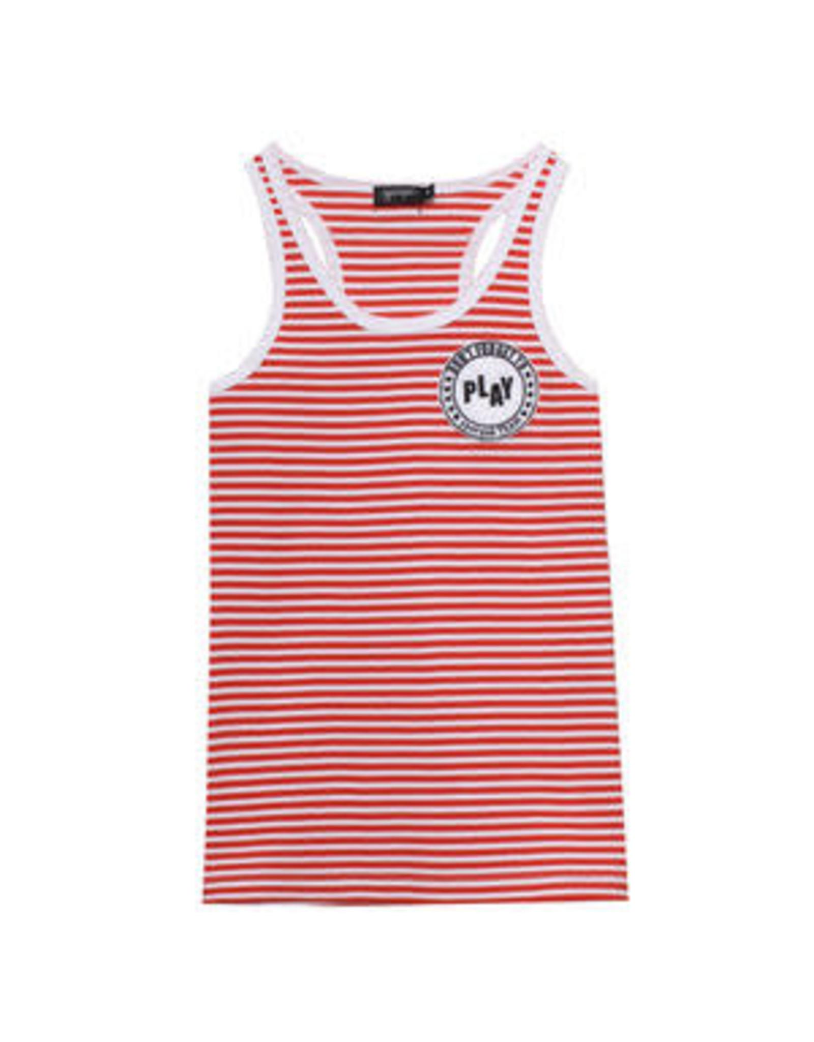 Yporque Striped Vest Tee