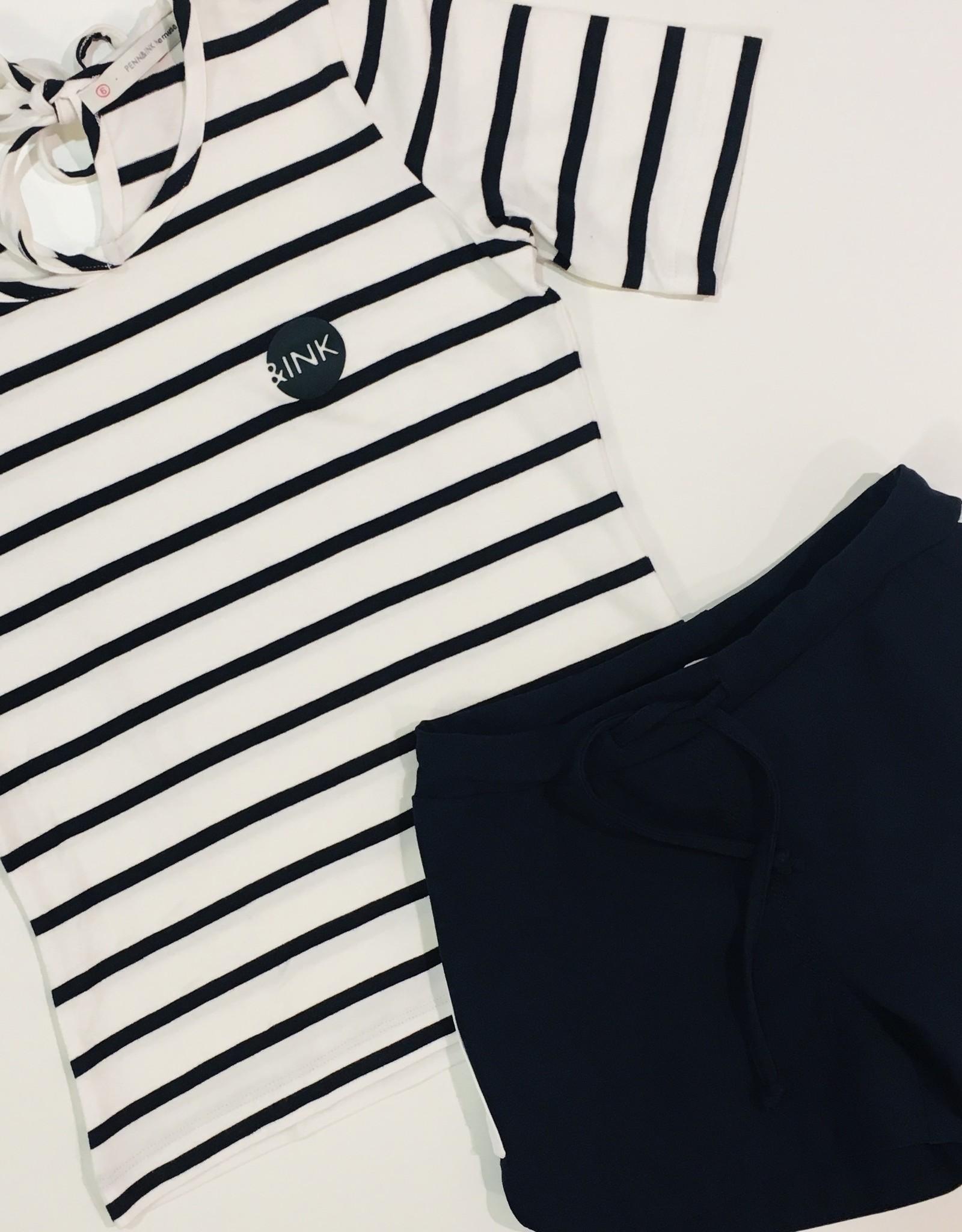 Penn & Ink N.Y. T-shirt Big Stripe
