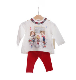 Mayoral Set red baby