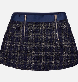 Mayoral Rok Navy Gold