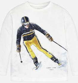 Mayoral T-shirt Skiing