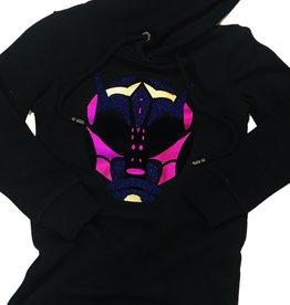 My Brand Alien Hood Dress Black