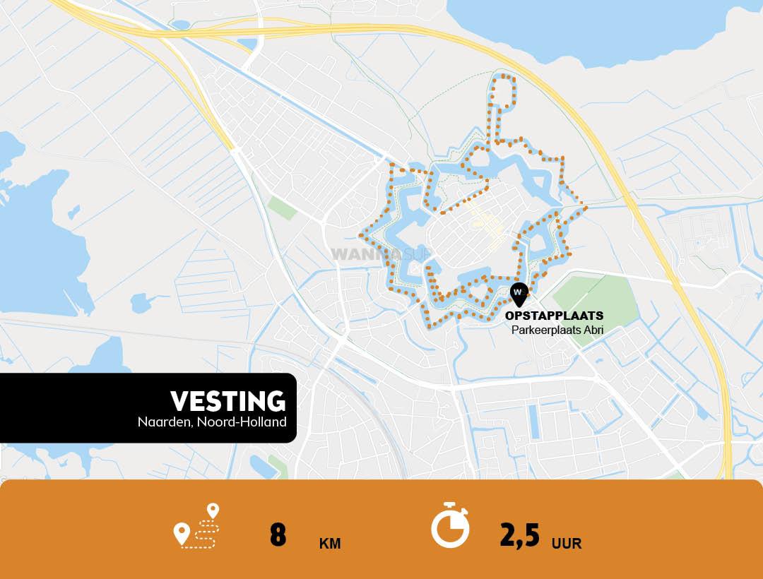 Sup route Naarden, Noord-Holland - WANNAsup