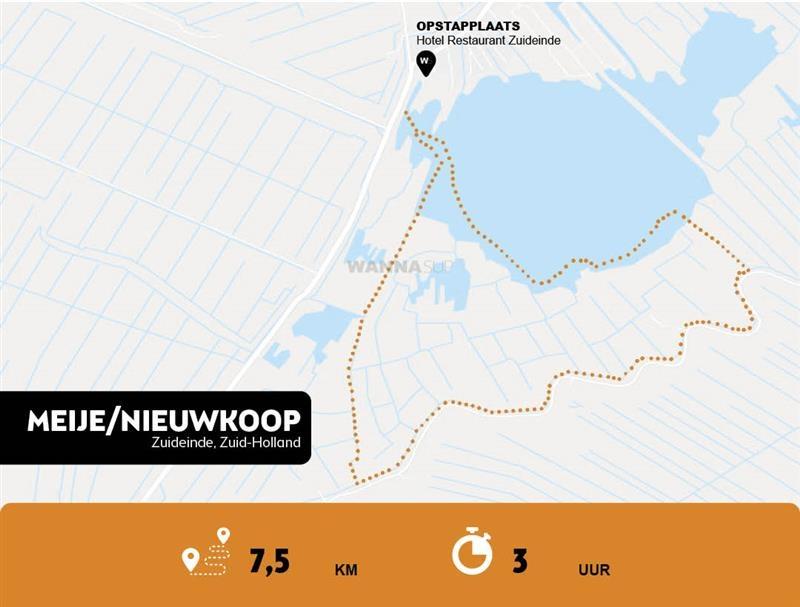 Sup-route-Emije/Nieuwkoop-WANNAsup