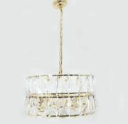 Erik Kuster Style Hanglamp - Crystal (Goud)