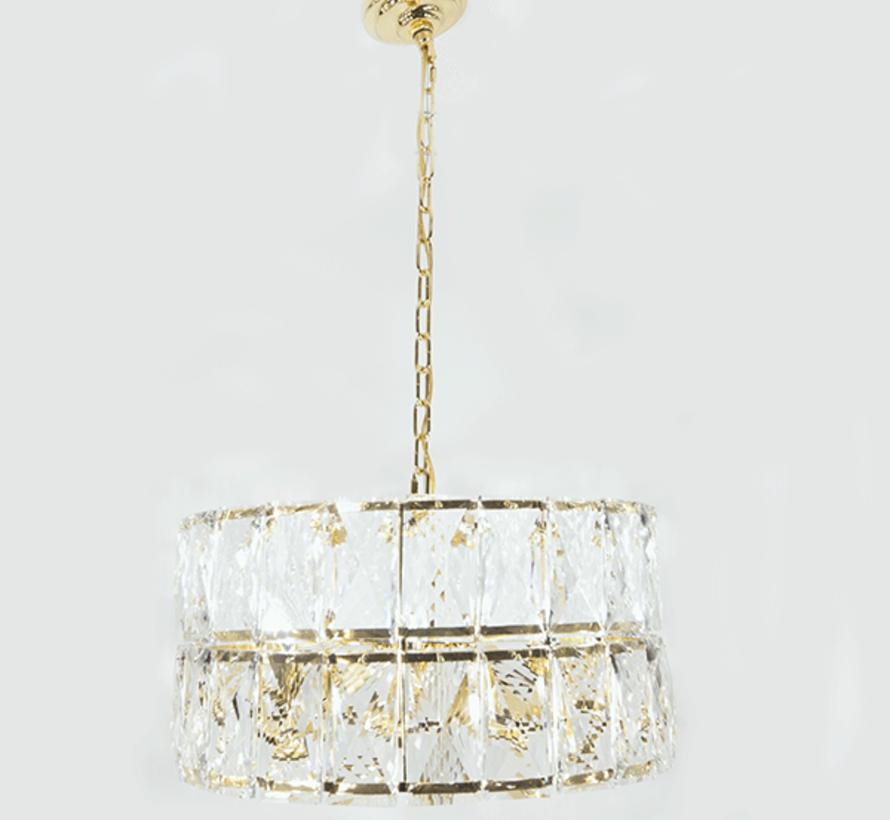Hanglamp - Crystal (Goud)