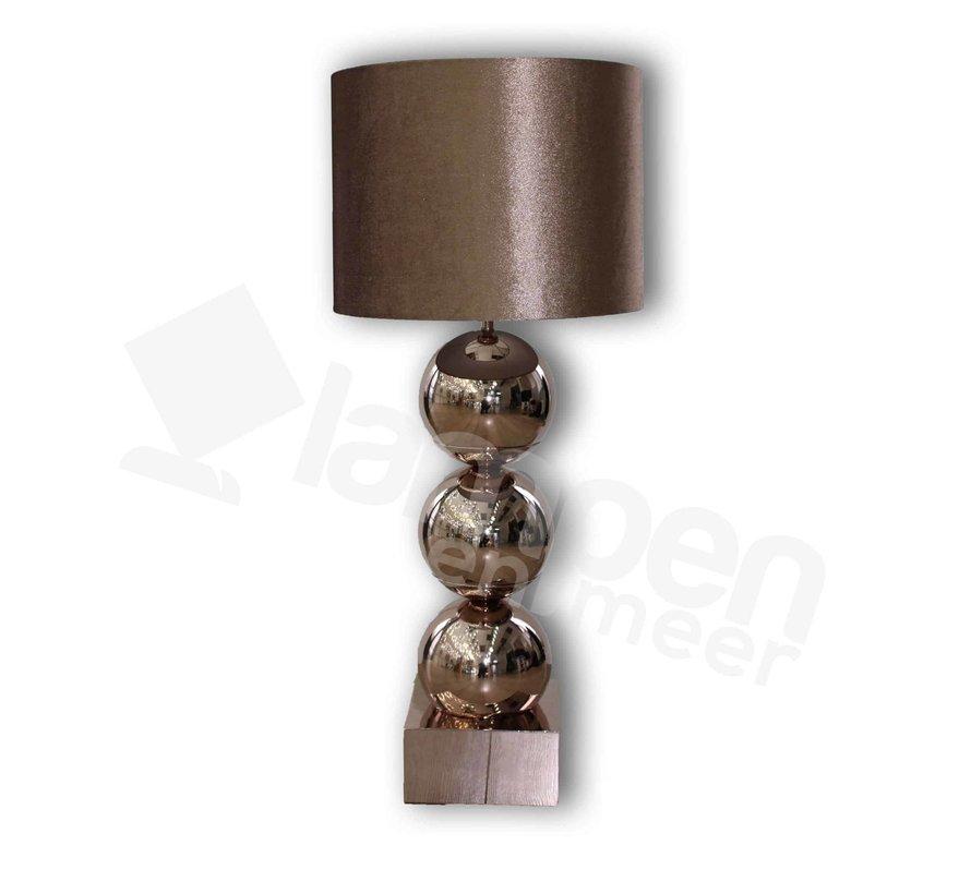 Bollamp Erik Kuster Style Brons/Goud
