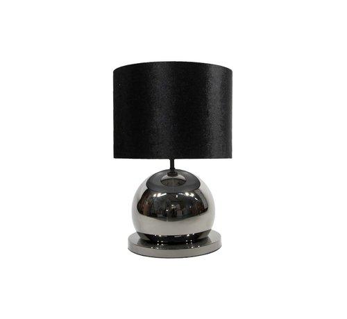 Erik Kuster Style Bollamp Tafel/Nachtkastje Antraciet