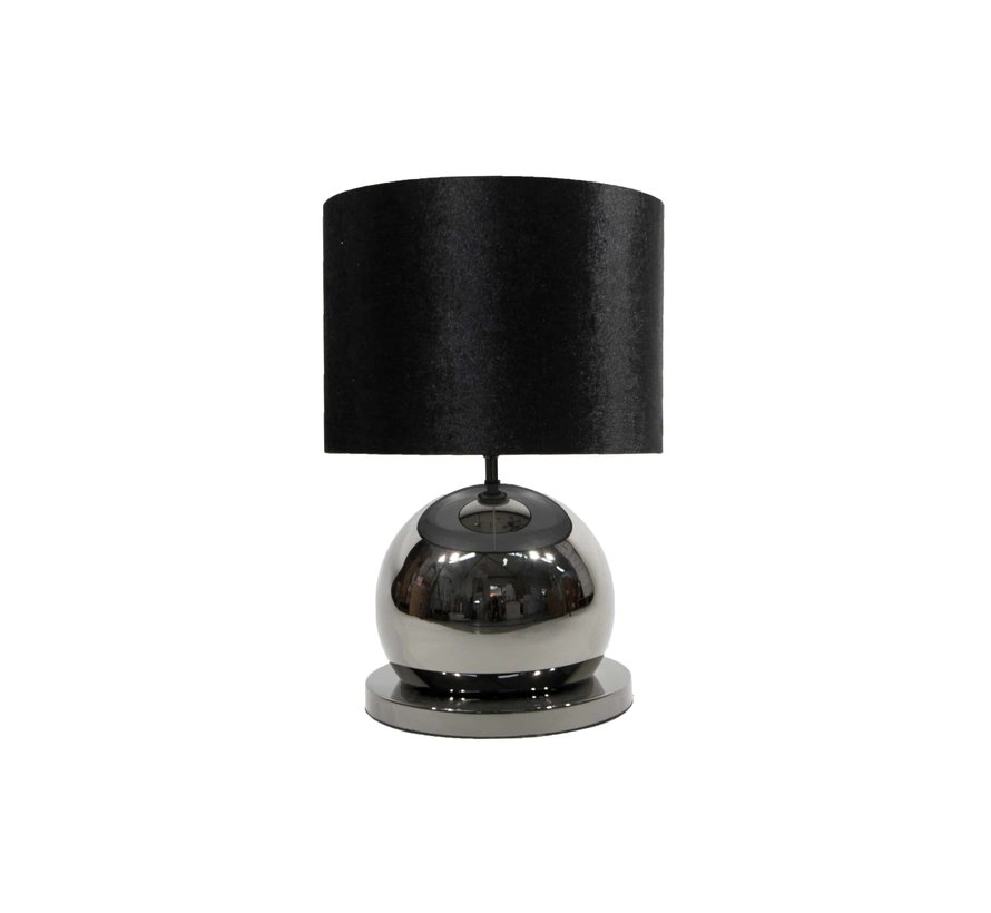 Bollamp Tafel/Nachtkastje Antraciet