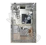 Erik Kuster Style Spiegel - Polished Crystal (120x80 cm)