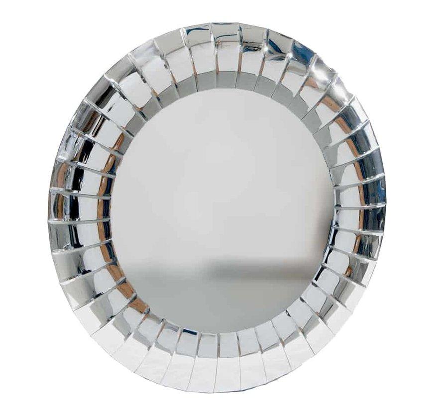 Erik Kuster style spiegel rond
