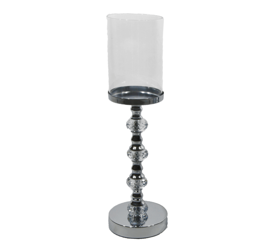 Kandelaar-Royal Zilver - XL