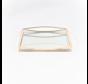 Dienblad Royal+Zilver Glas - Goud