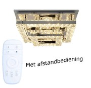 Erik Kuster Style Plafondlamp Juliet - Vierkant - verstelbaar LED licht met RGB funtie