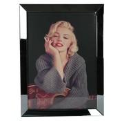 Erik Kuster Style Spiegelijst Marilyn Monroe Smoking - Zilver