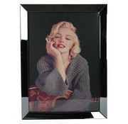 Erik Kuster Style Spiegelijst Marilyn Monroe Smoking - Antraciet