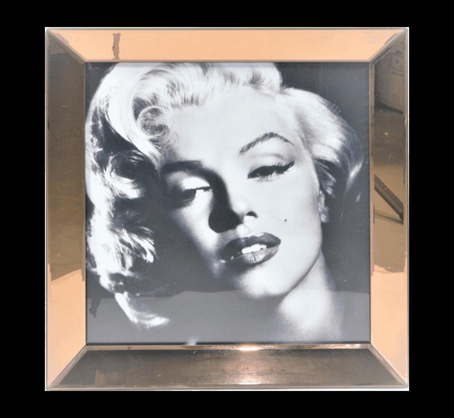 Spiegelijst Marilyn Monroe Glamour Style - Goud