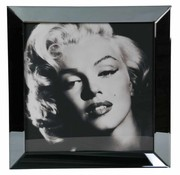 Erik Kuster Style Spiegelijst Marilyn Monroe Glamour Style - Zilver