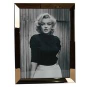 Erik Kuster Style Spiegelijst Marilyn Monroe Posing - Goud