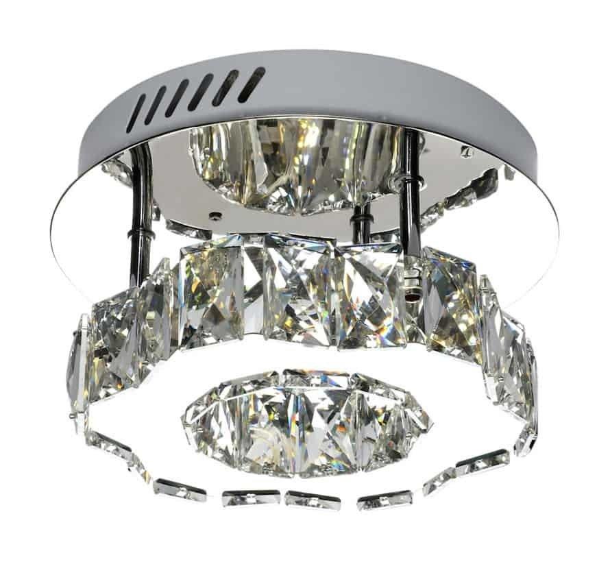 Plafondlamp Edieson-lamp- klein - verstelbaar LED