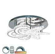 Lampenenmeer Led kleuren Plafondlamp in de Erik Kuster Style met Afstandbediening