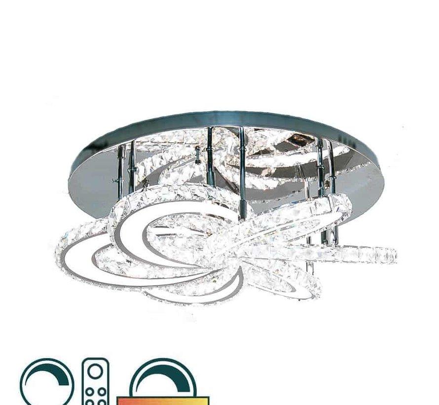 Led kleuren Plafondlamp in de Erik Kuster Style met Afstandbediening