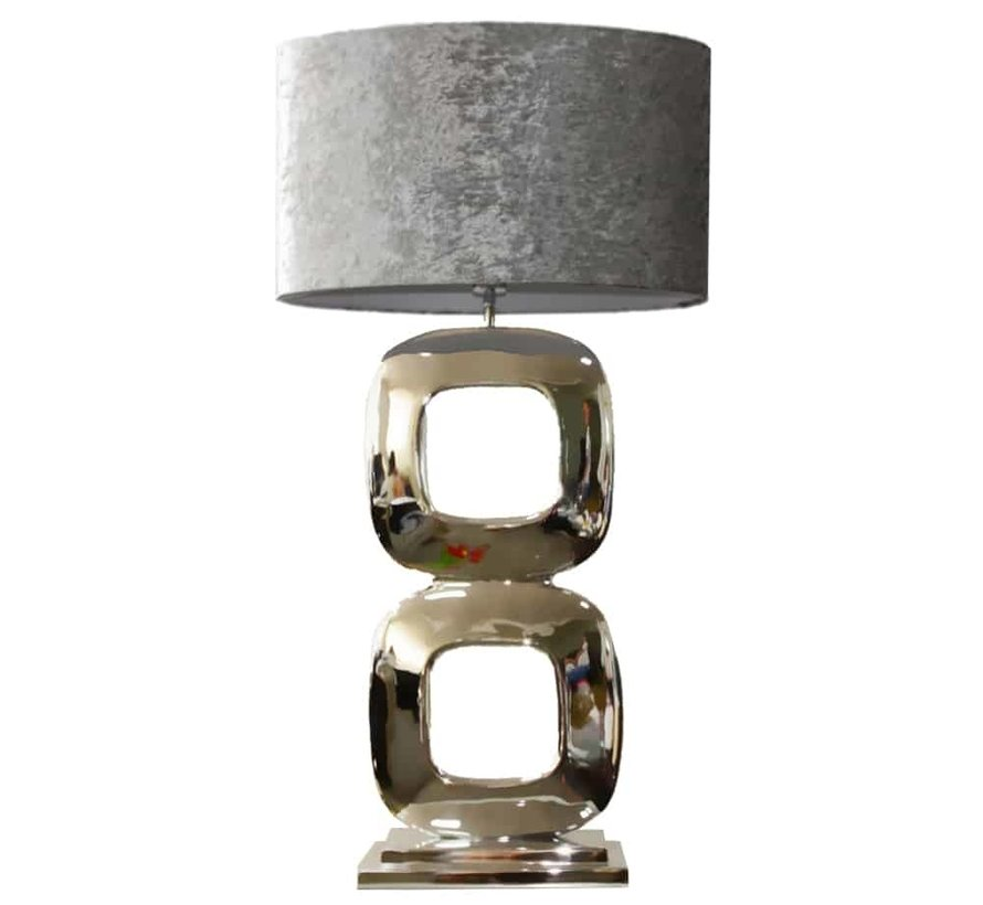 Stout Style Vloerlamp Maximo Zilver