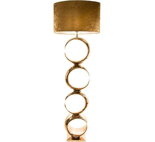 L&M  Vloerlamp Nina Goud