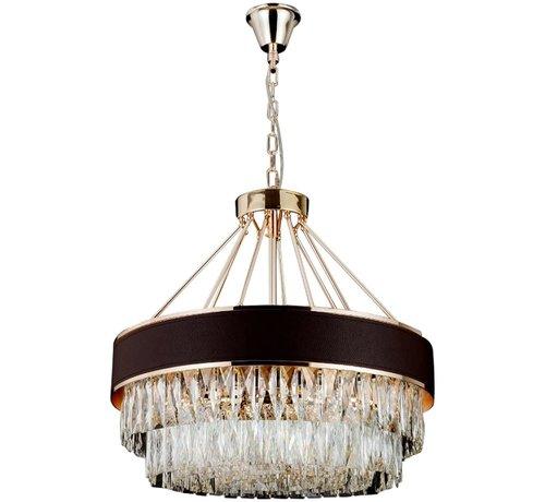 Belava Hanglamp Paris Ovaal  Sepia/Gold