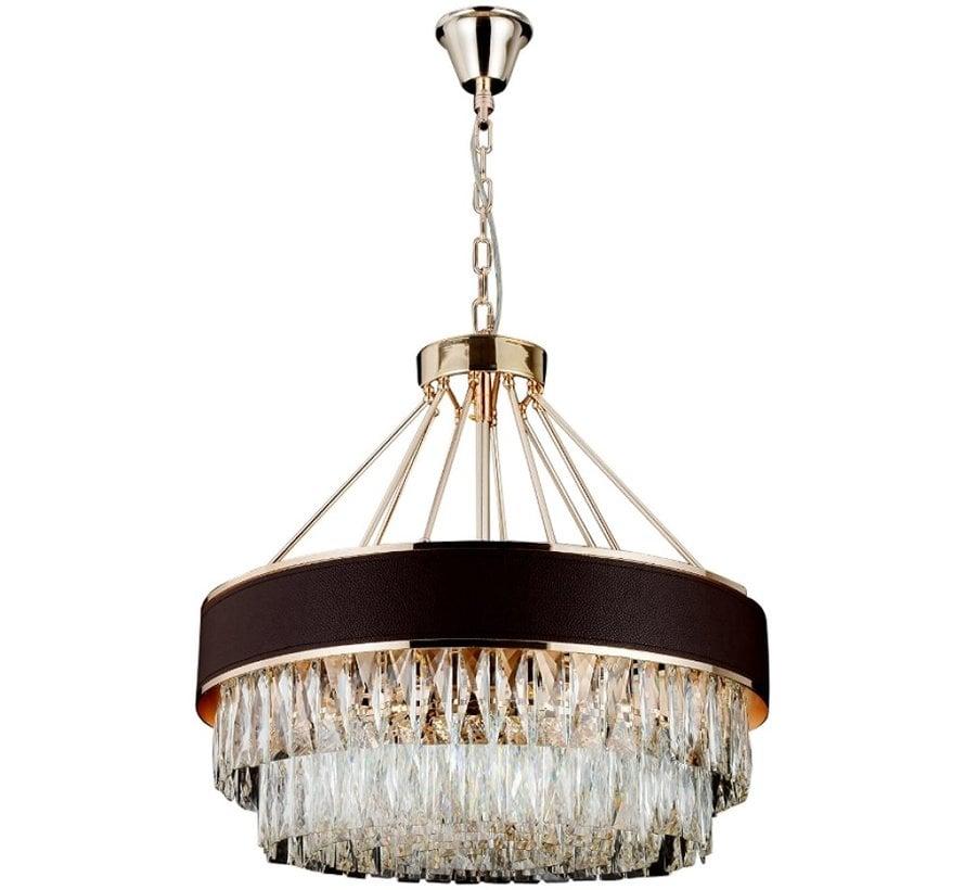 Hanglamp Paris Ovaal  Sepia/Gold