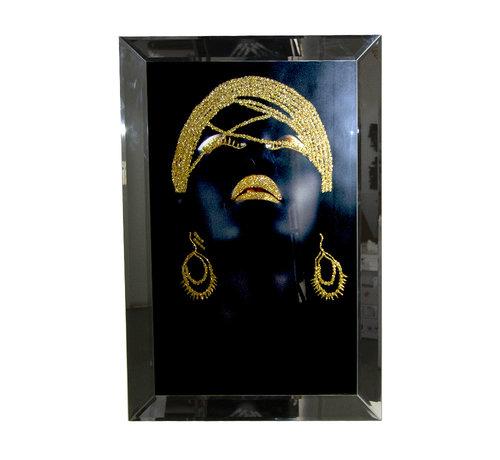 Erik Kuster Style Schilderij Golden Jewels