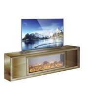 Hamava  TV-Meubel Spiegelglas - Brons