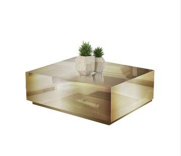 Hamava  Salontafel Spiegelglas - Brons