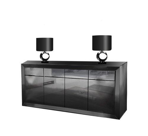 Hamava  Dressoir Spiegelglas - Antraciet
