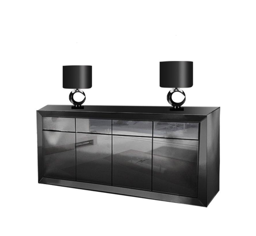 Dressoir Spiegelglas - Antraciet