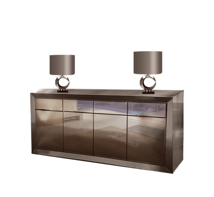 Dressoir Spiegelglas - Sepia