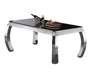 Royale Eettafel Glas - Zwart