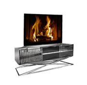 Terava TV-Meubel Spiegelglas - Zilver