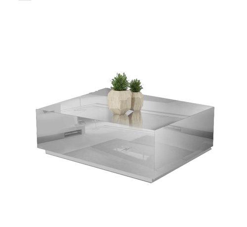 Hamava  Bloktafel Spiegelglas - Zilver