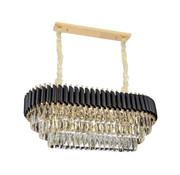 Erik Kuster Style Pearl Hanglamp - Goud, Chroom