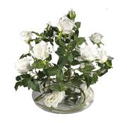 L&M Bloemen - White Roses