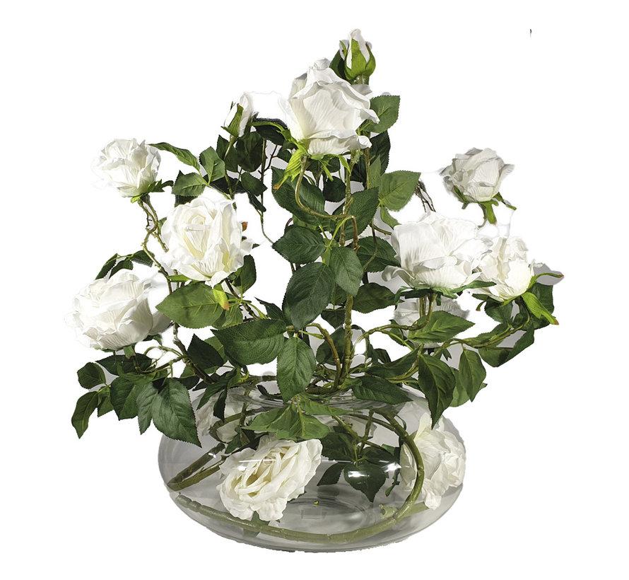 Bloemen - White Roses
