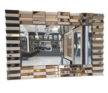 Erik Kuster Style Spiegel - Bronze Piano