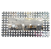 Erik Kuster Style Spiegel - Flannel (122x80 cm)