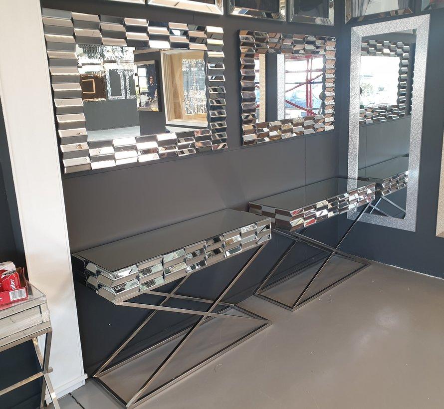 Dressoir en Spiegel set - Zilver of Brons (120x80 cm)