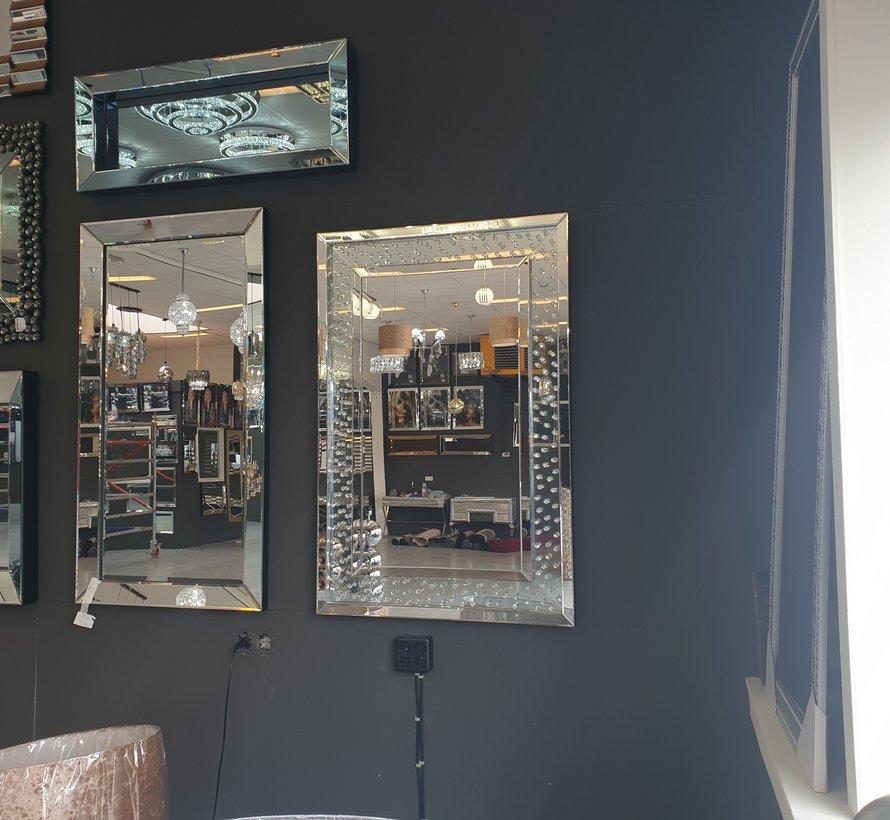 Spiegel - Waterdrops (120x80 cm)