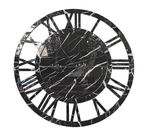 Erik Kuster Style XXL Klok - Antracite Black